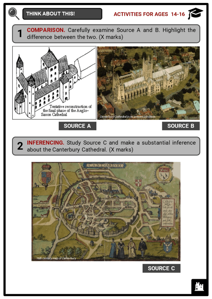 Canterbury Cathedral Student Activities & Answer Guide 3