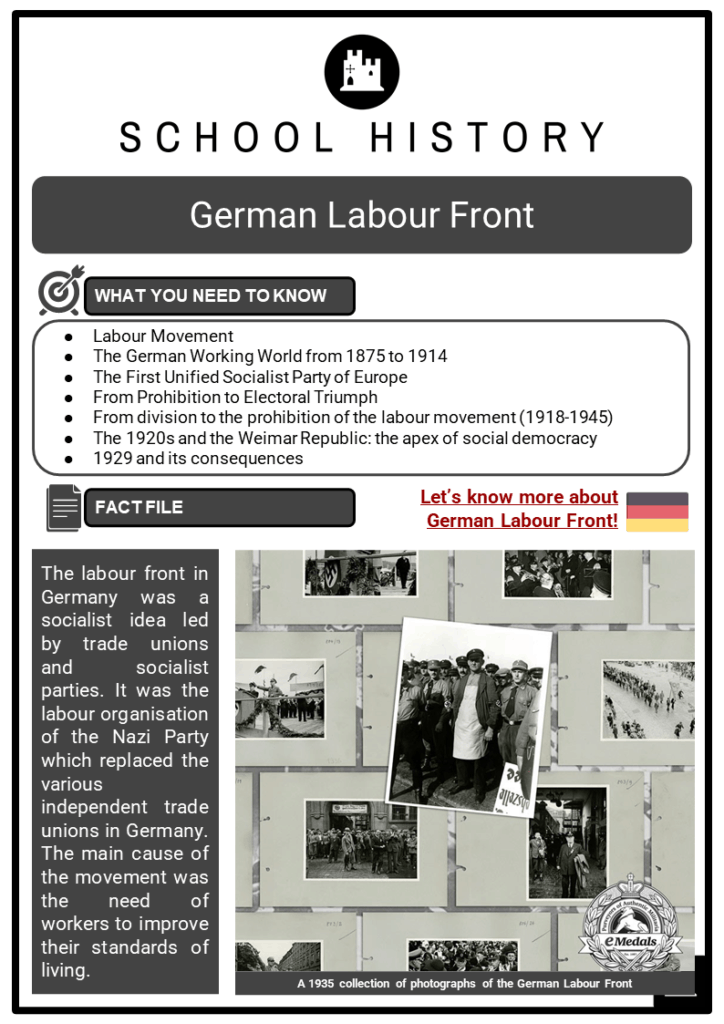 German Labour Front Resource Collection 1