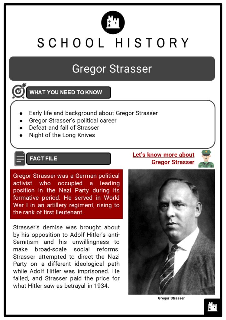 Gregor Strasser Resource Collection 1