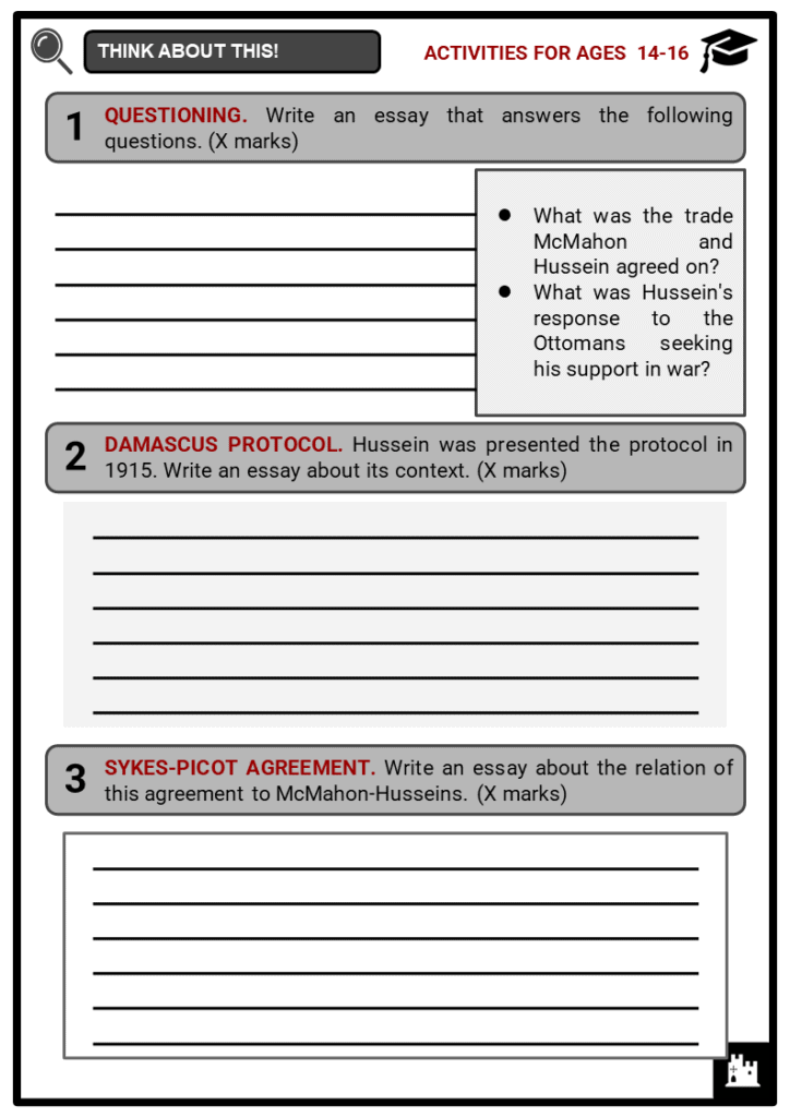 McMahon Agreement Student Activities & Answer Guide 3