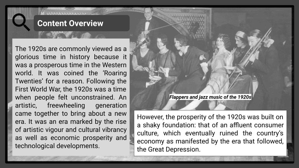 A Level Boom and crash 1920-29 Presentation 2