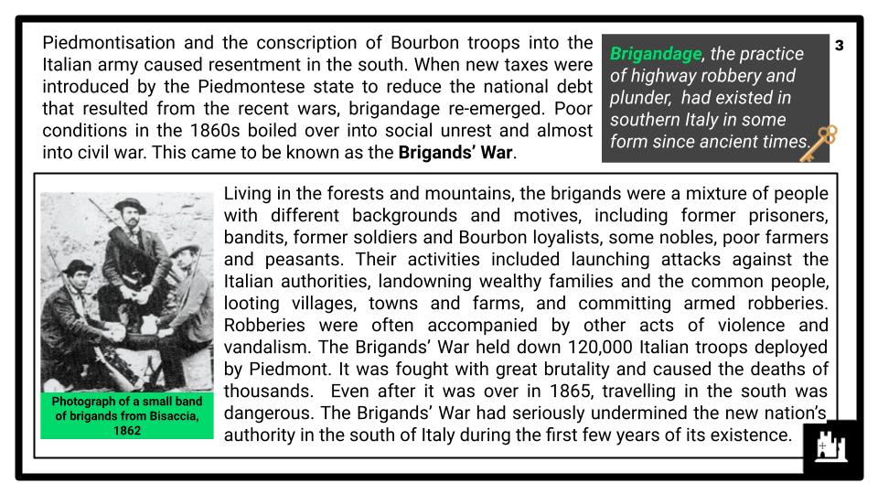 A Level Italy, 1789-1896 Presentation 1