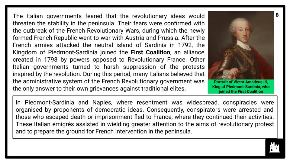 A Level Italy, 1789-1896 Presentation (1)