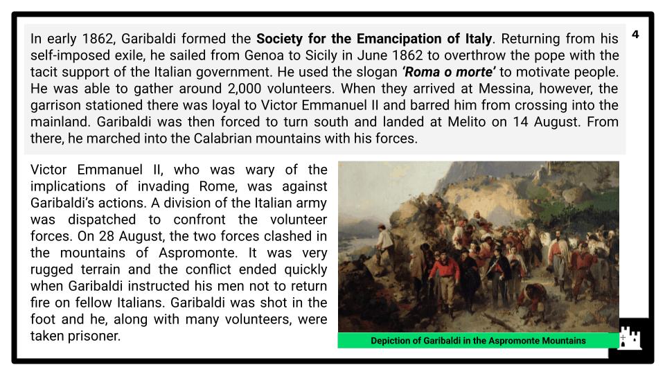 A Level Italy, 1789-1896 Presentation 2