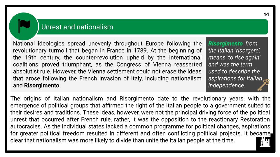 A Level Italy, 1789-1896 Presentation (3)