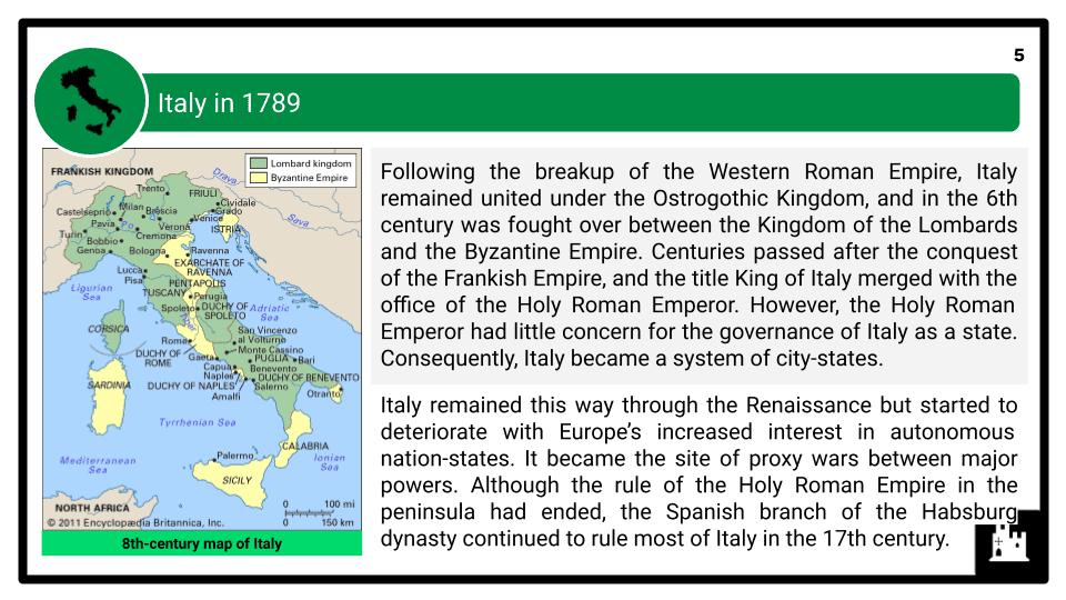 A Level Italy, 1789-1896 Presentation