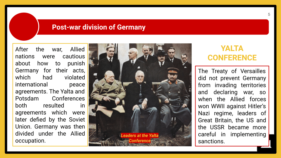 A Level The Federal Republic of Germany, 1945-89 Presentation 2