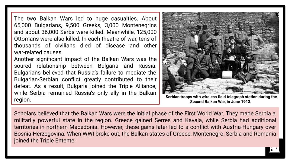 A Level The First World War, 1900-1918 Presentation 1