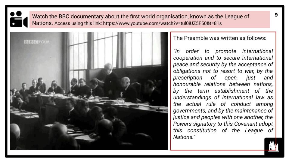 A Level The First World War, 1900-1918 Presentation 3