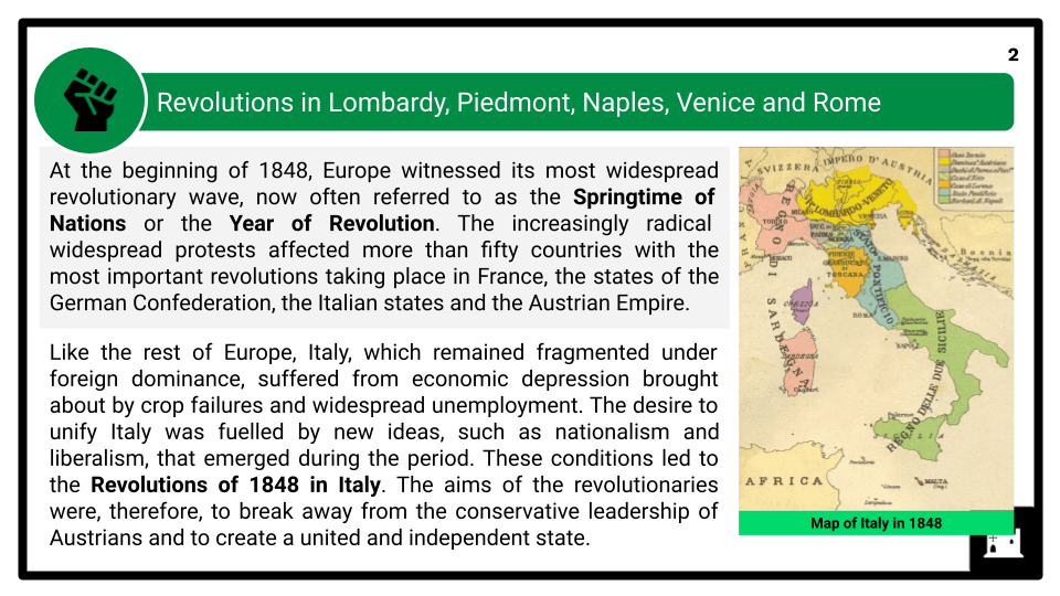 A Level The Revolutions of 1848-1849 and Their Aftermath Presentation 1