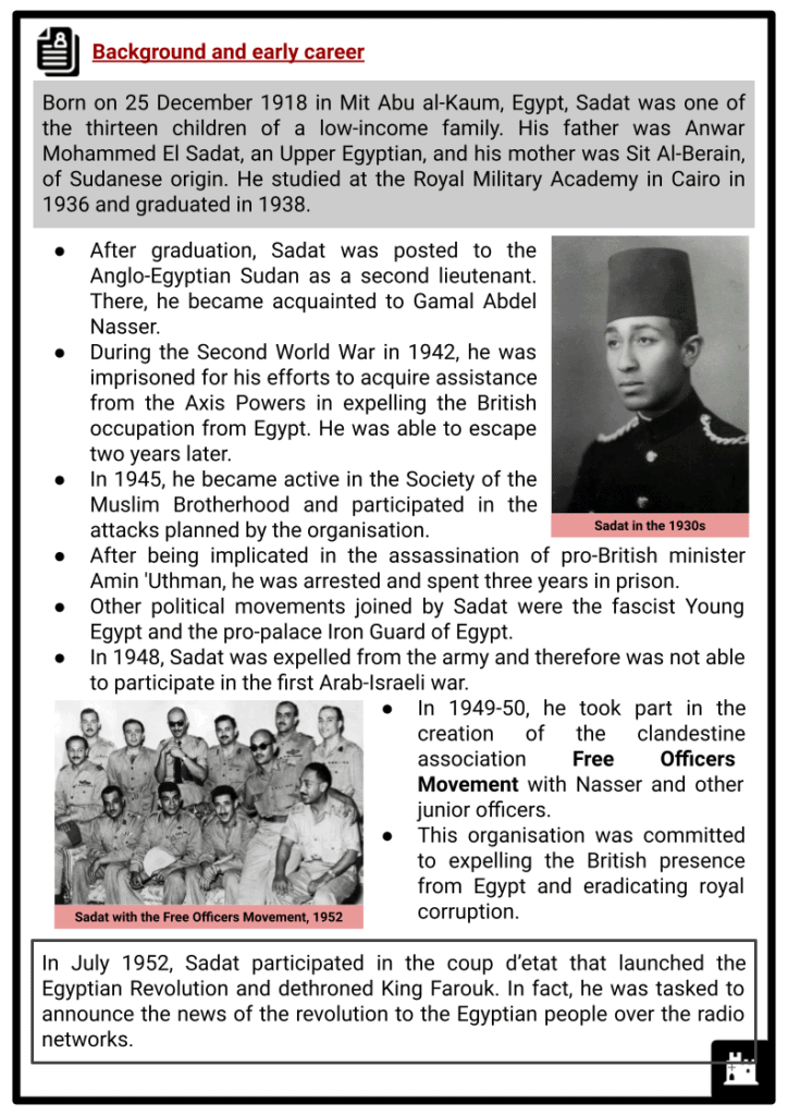 Anwar al-Sadat Resource Collection 2