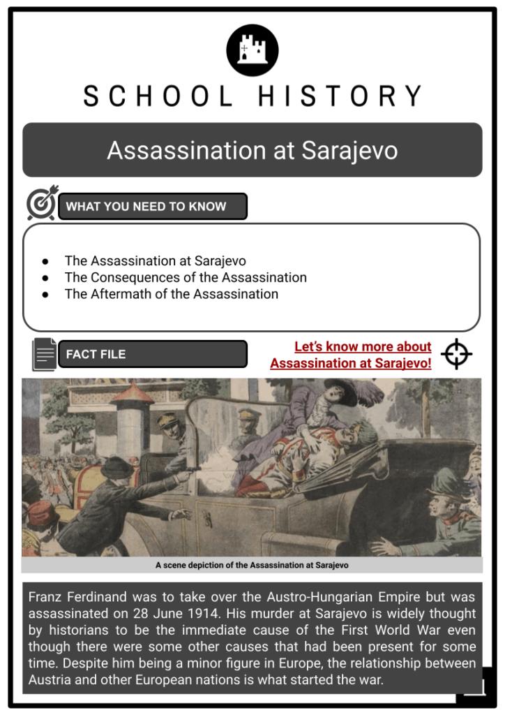 Assassination at Sarajevo Resource Collection 1