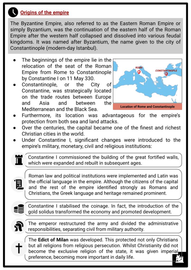 Byzantine Empire Resource 2