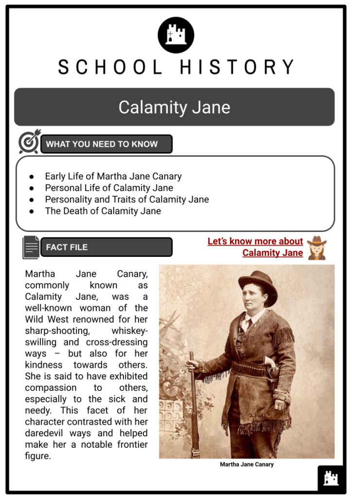 Calamity Jane Resource Collection 1