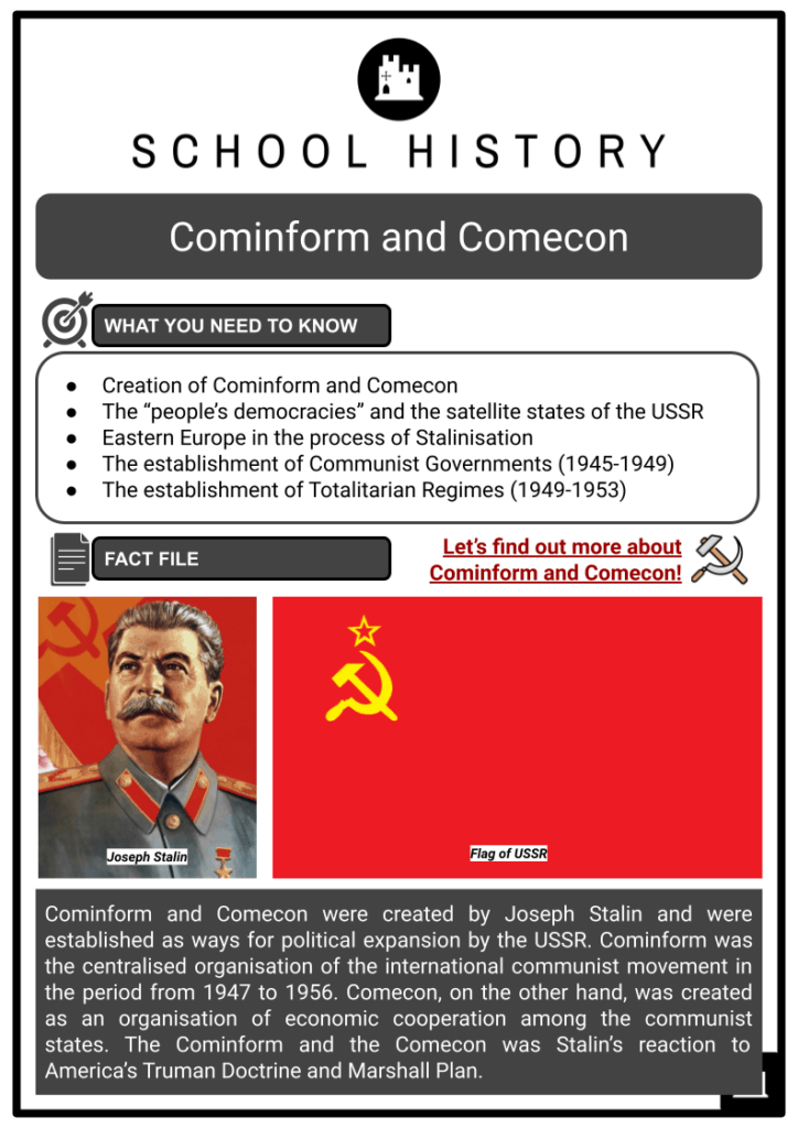 Cominform and Comecon Resource Collection