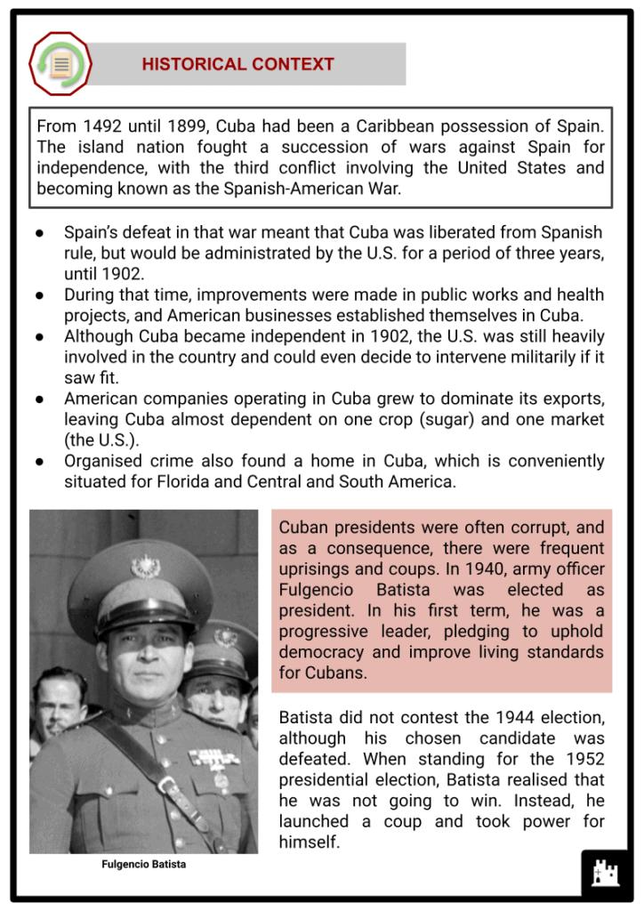 Cuban Revolution Resource 2