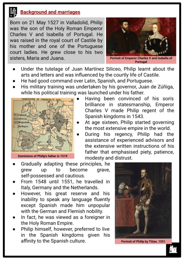 Philip II of Spain Resource (2)