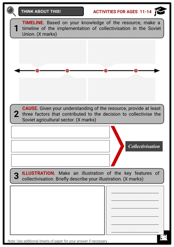 Collectivisation Resource Activities & Answer Guide 1