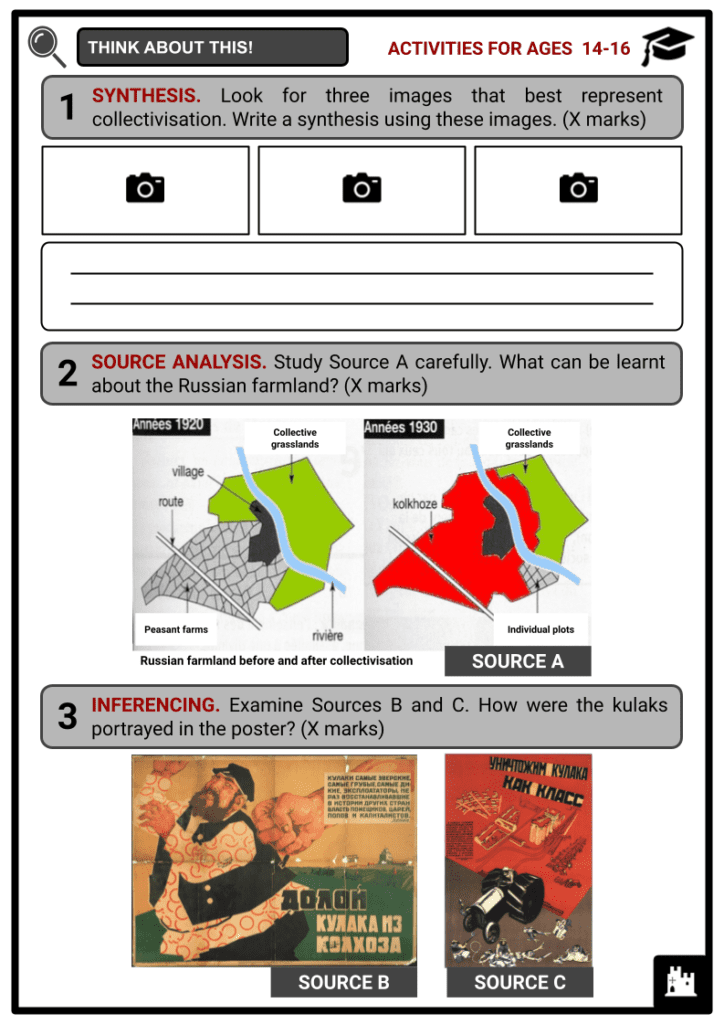 Collectivisation Resource Activities & Answer Guide 3