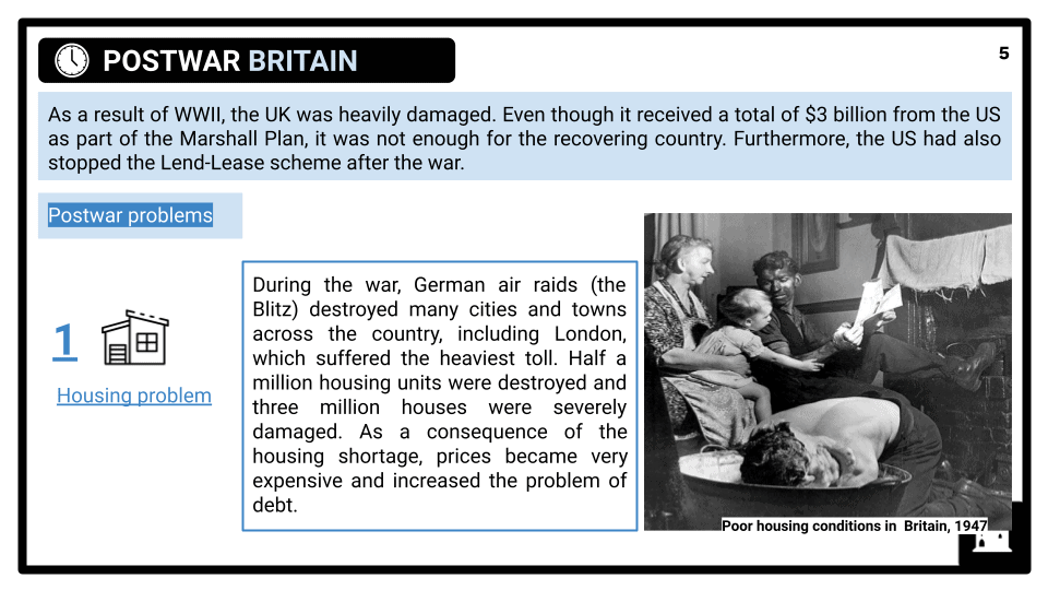 KS3 Britain's place in the world since 1945 Presentation