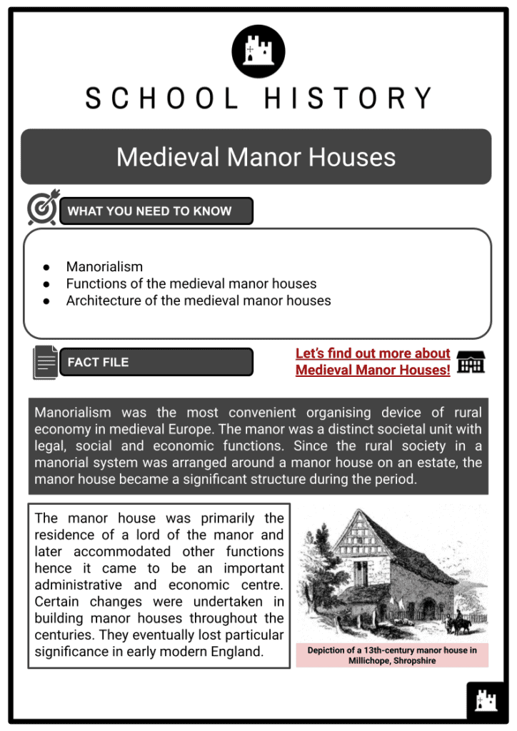 Medieval Manor Houses Resource 1