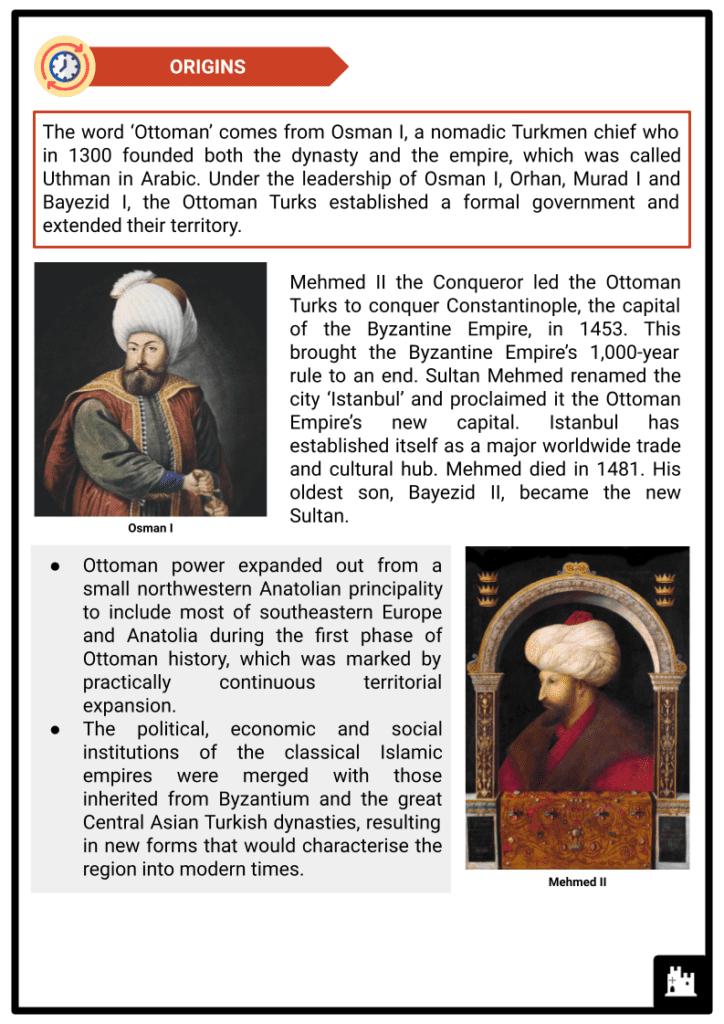 Ottoman Empire Resource 2